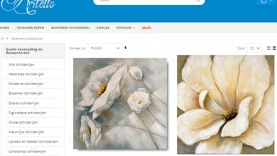 schilderij bloemen