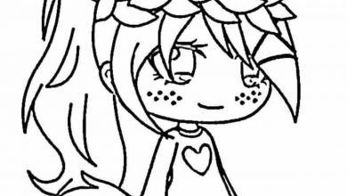 Gacha Life coloring pages